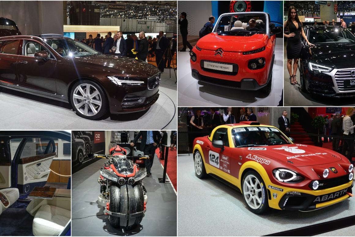 2016 Geneva Motor Show in pictures