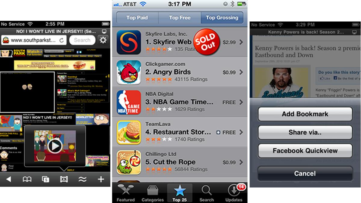 """Skyfire 2.0 for iPhone """"sold out"""" in just five hours"""