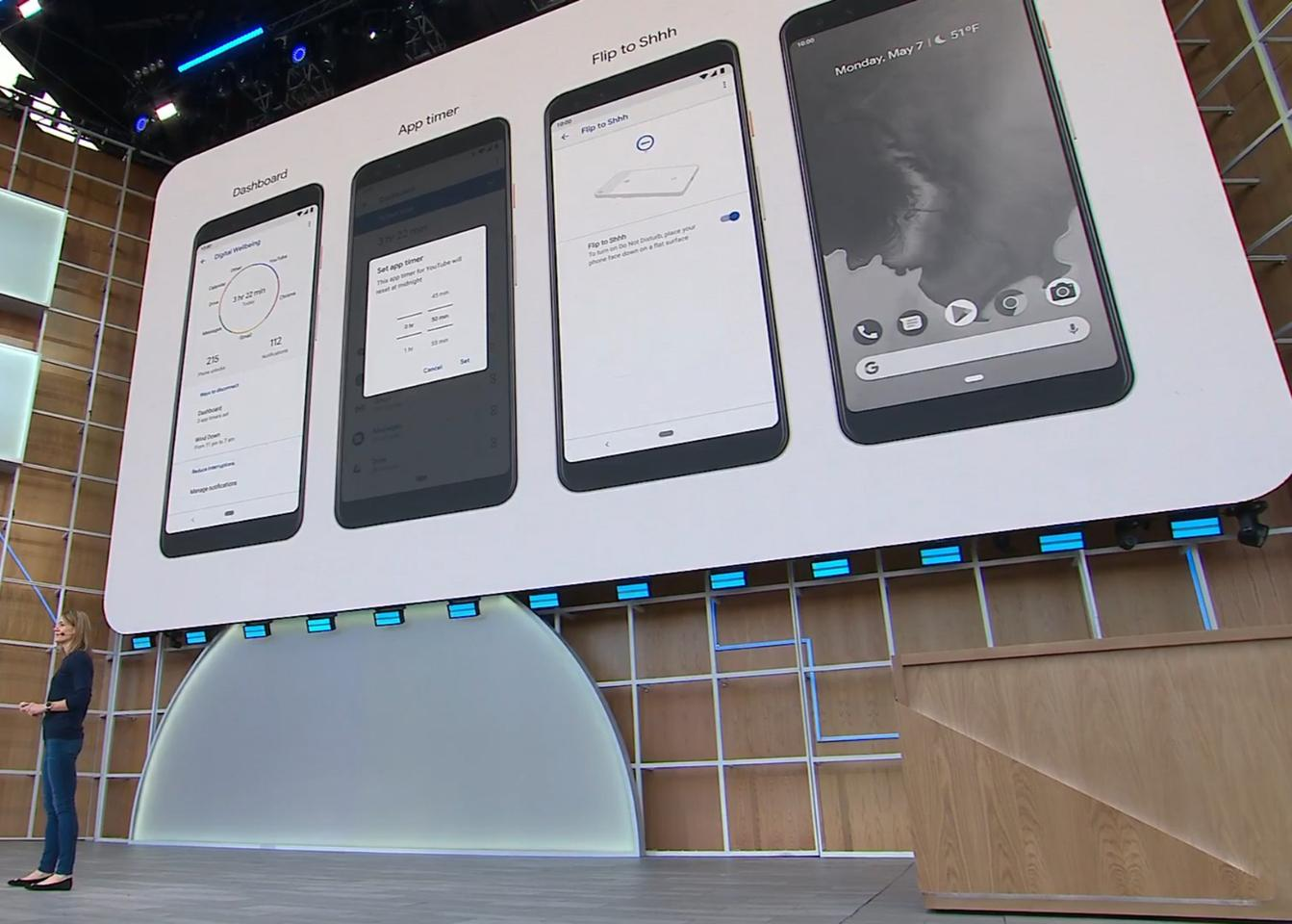 Google I/O 2019: Artificial intelligence and Android Q lead
