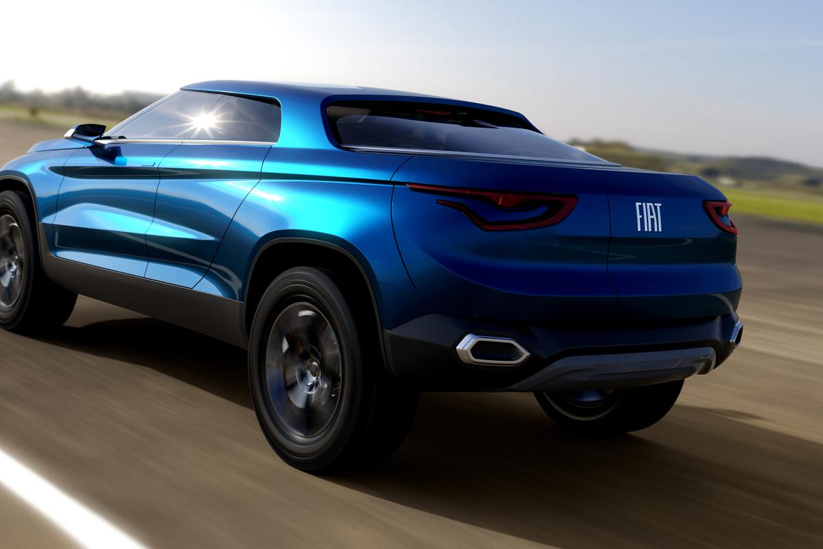 The all-new Fiat FCC4 design study debuted in Brazil last month