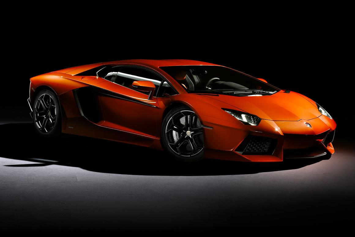 The Lamborghini Aventador LP 700-4