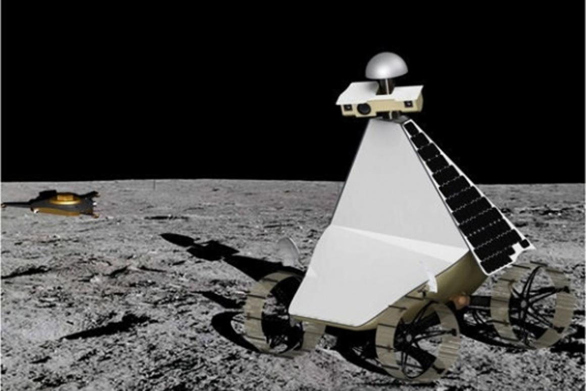 Astrorobotic's concept will record data and send it back to earth with twin HD cameras