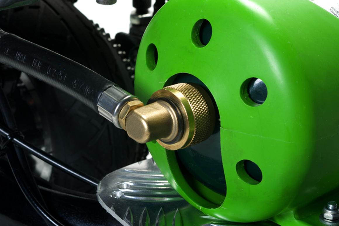 ProGo scooter packs the power of propane