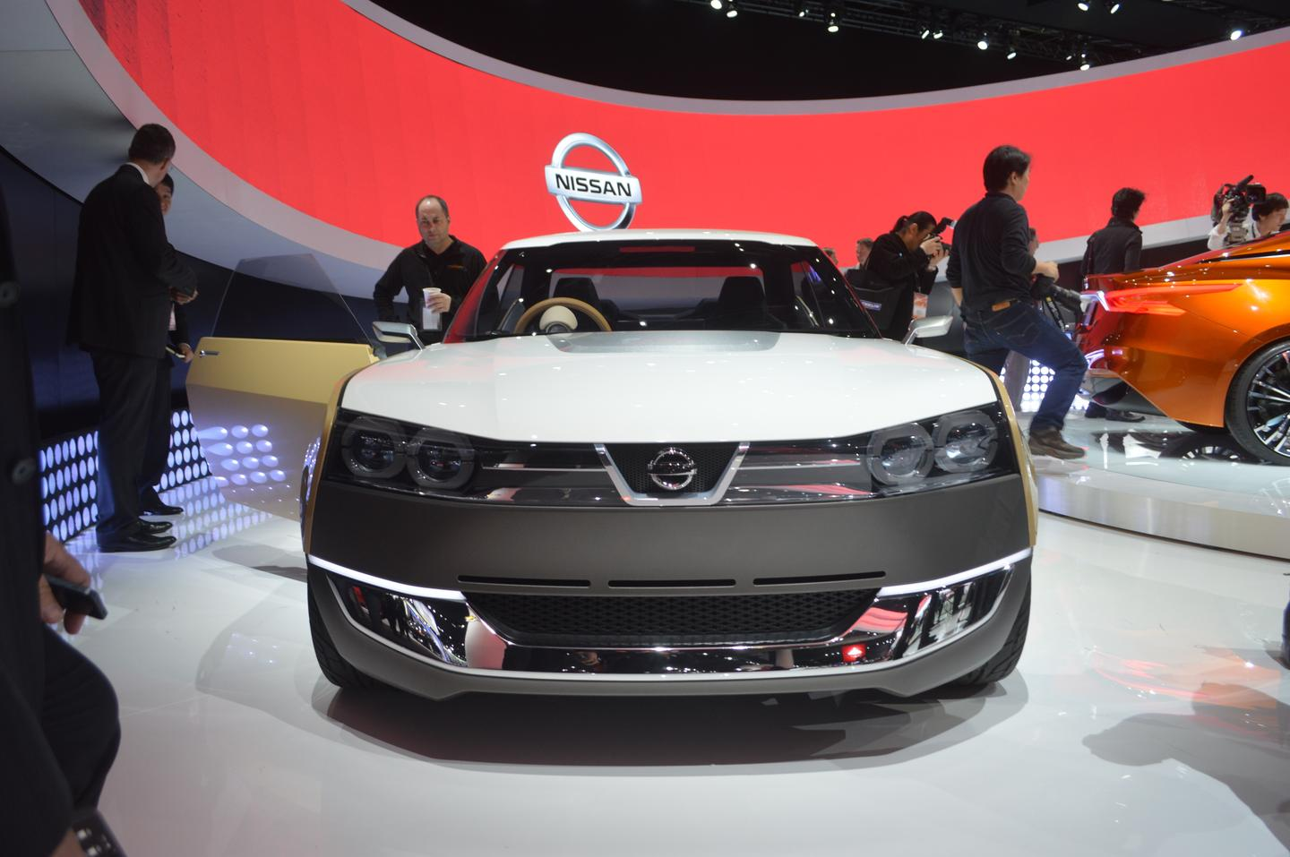 The Nissan IDx Freeflow at NAIAS 2014
