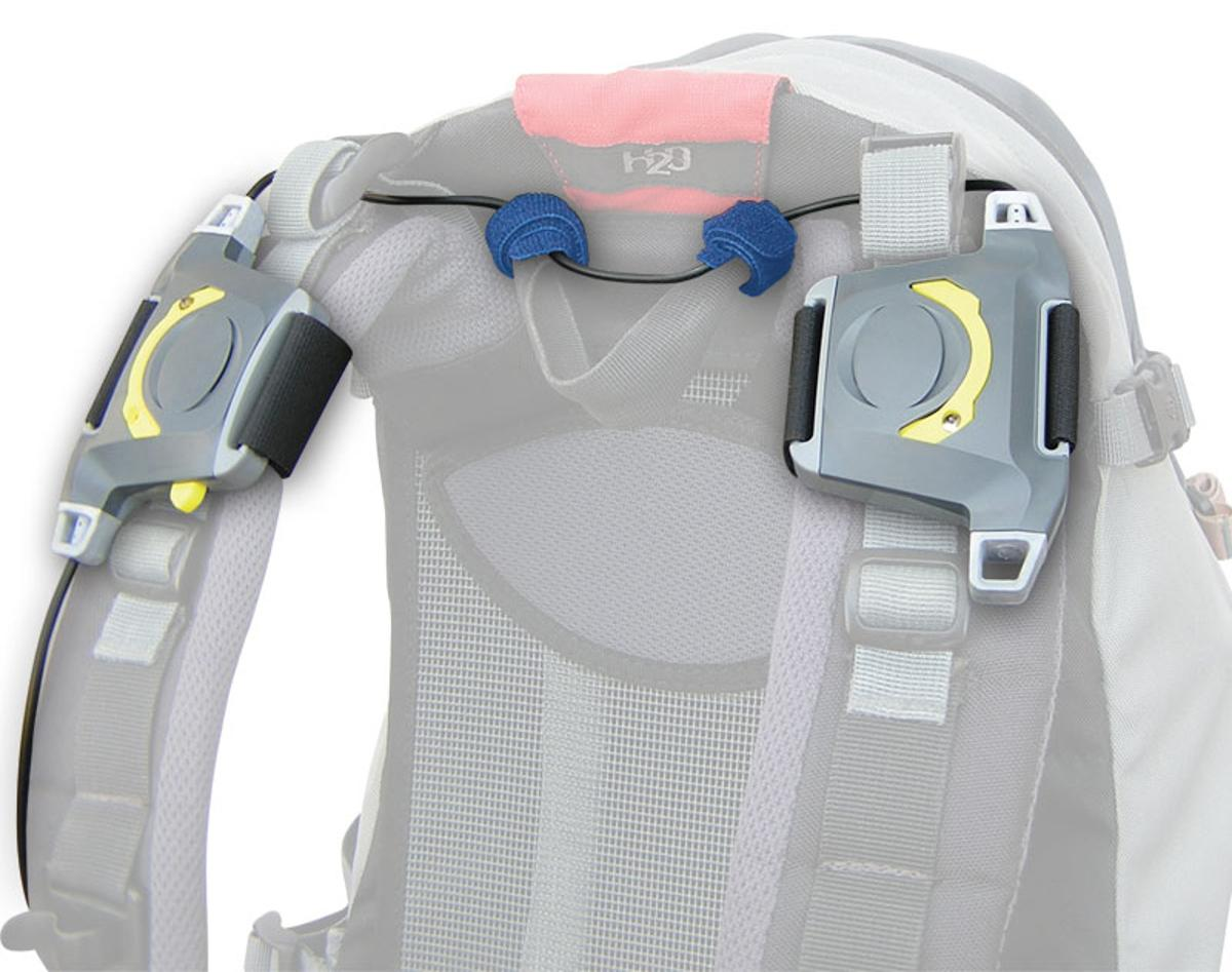 The Music Strap backpack speakers