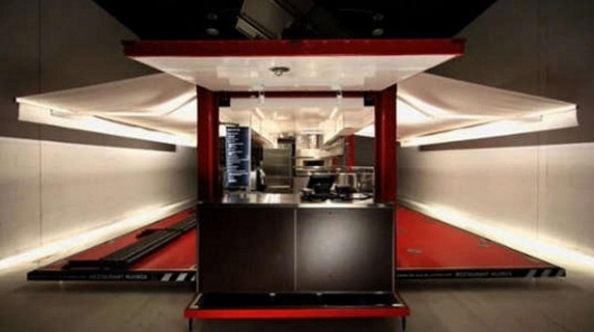 Muvbox - The solar powered restaurant in a shipping container