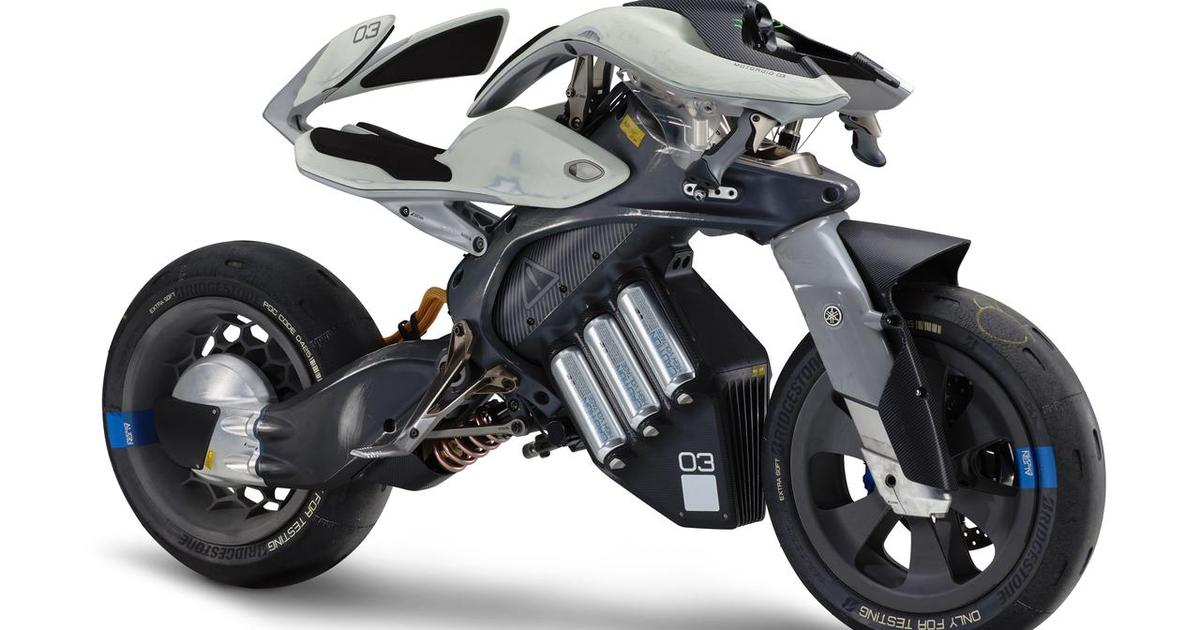 Yamaha explores fusing artificial intelligence and motorcycles