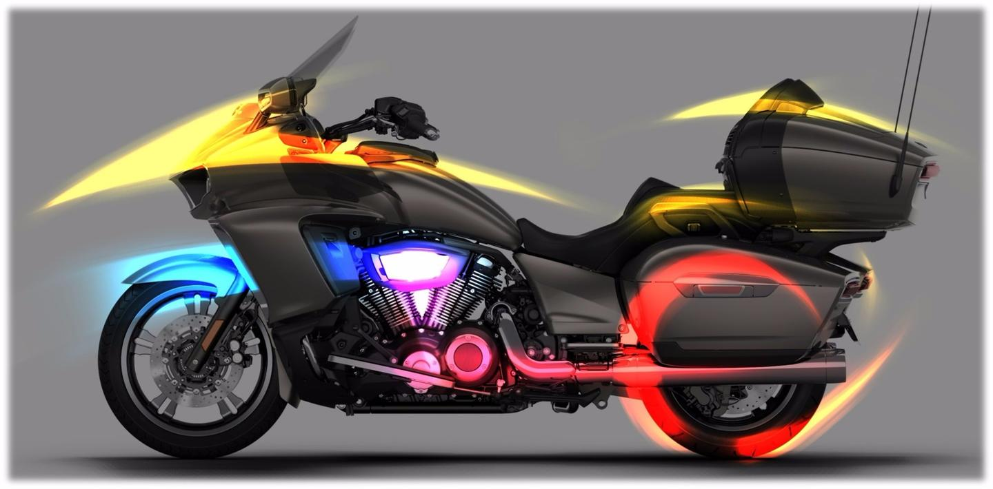 2017 Yamaha Star Venture: apparently has aerodynamics