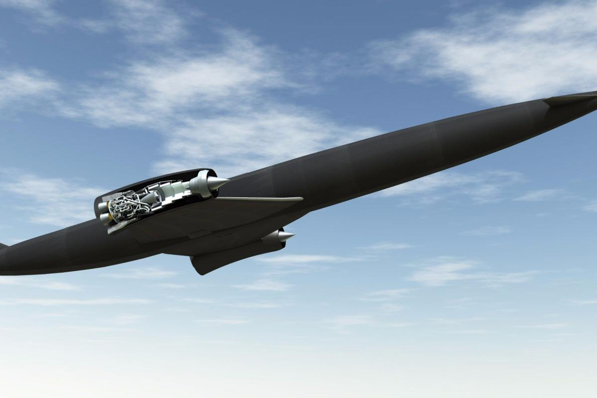 SABRE engine in place on Skylon spaceplane that is due to be tested at the new Westcott rocket engine test facility