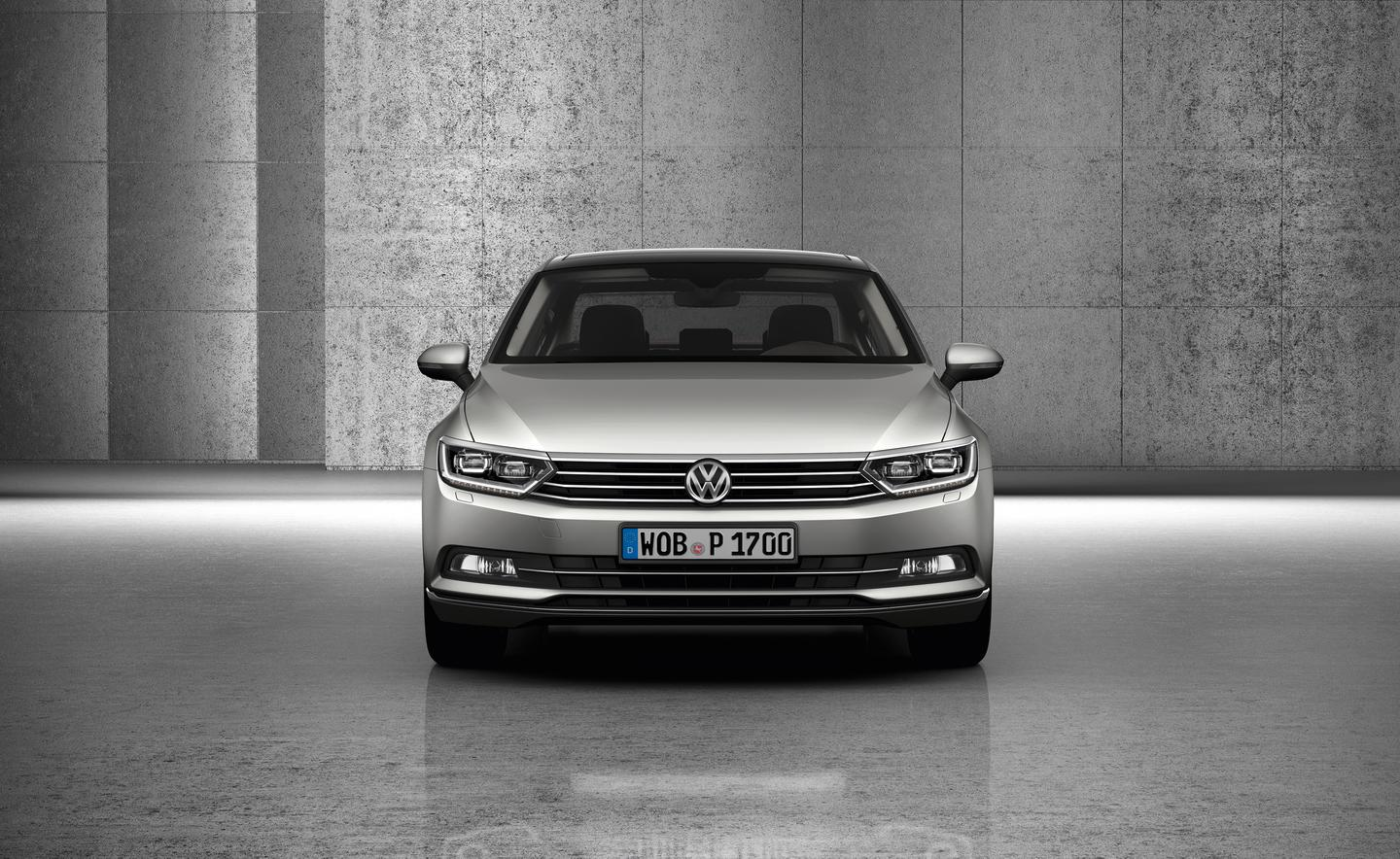 VW's new Passat is available with adaptive LED headlights