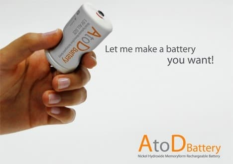 A memory-foam case allow the AtoD battery to squeeze down to fit any battery slot