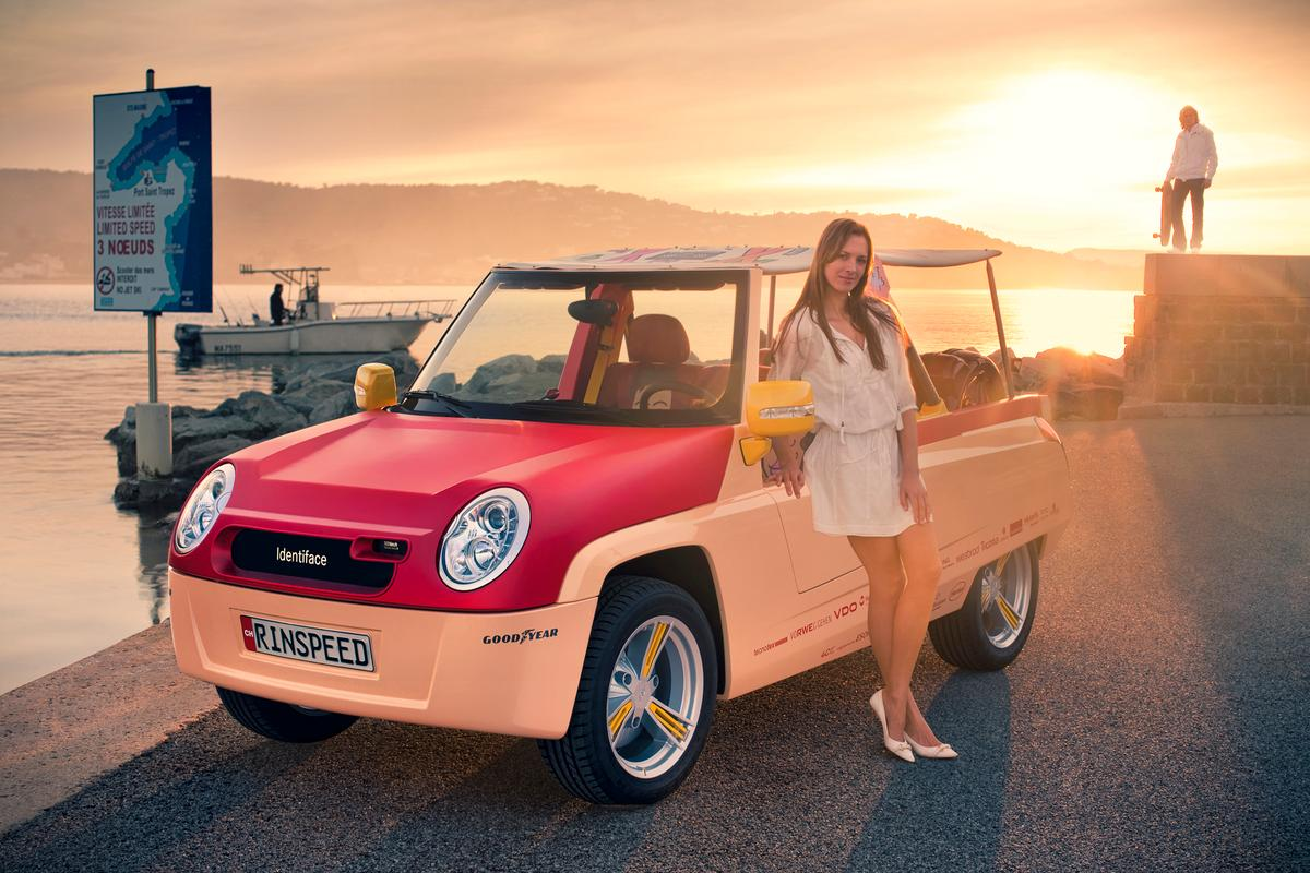 The Rinspeed BamBoo ... a modern take on the beach-lovers' dune buggy