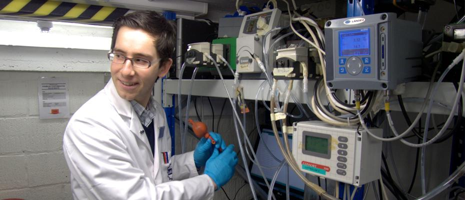 Researcher Francis Meerburg and team has developed a new way of optimizing the rate that bacteria converts waste to organic material which has gone straight from a lab in Belgium directly to a large-scale operation in the Us