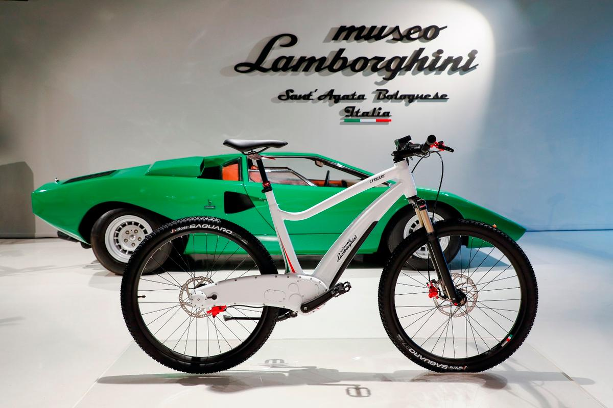 The e-bikes were  announced at the Lamborghini museum in Sant'Agata Bolognese