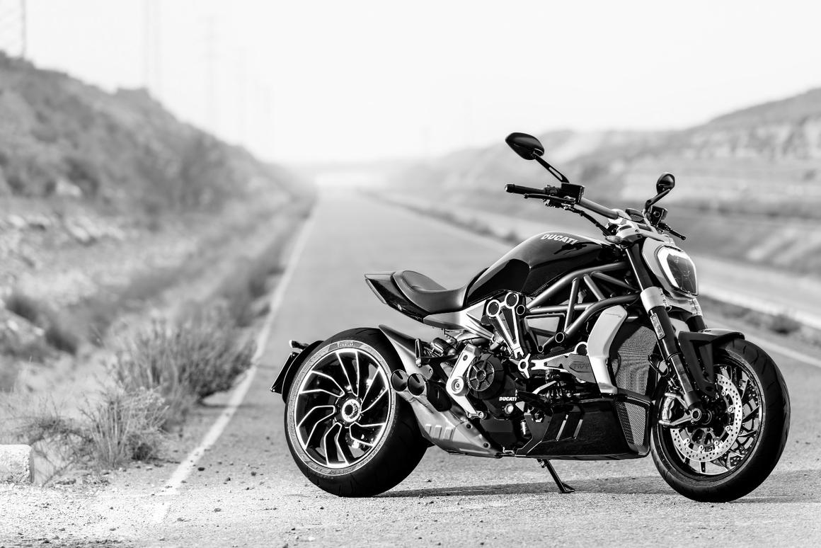 The Ducati XDiavel S is hotter than the Diavel by far