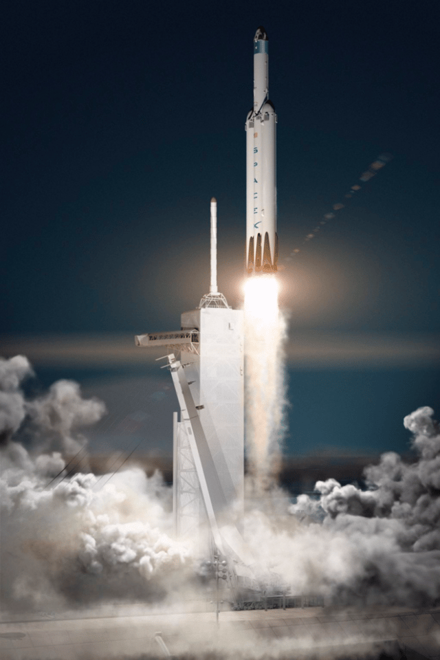 The Red Dragon lander will ride on SpaceX's soon-to-be-completed Falcon Heavy rocket