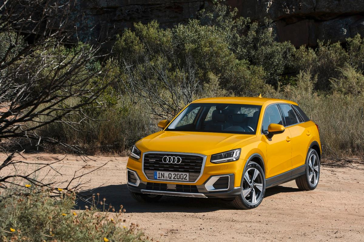 The Audi Q2 will launch later this year wih the new filter