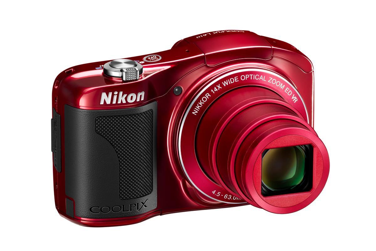 Nikon has announced the COOLPIX L610 compact camera featuring a 16 megapixel BSI CMOS sensor and 14x optical zoom lens