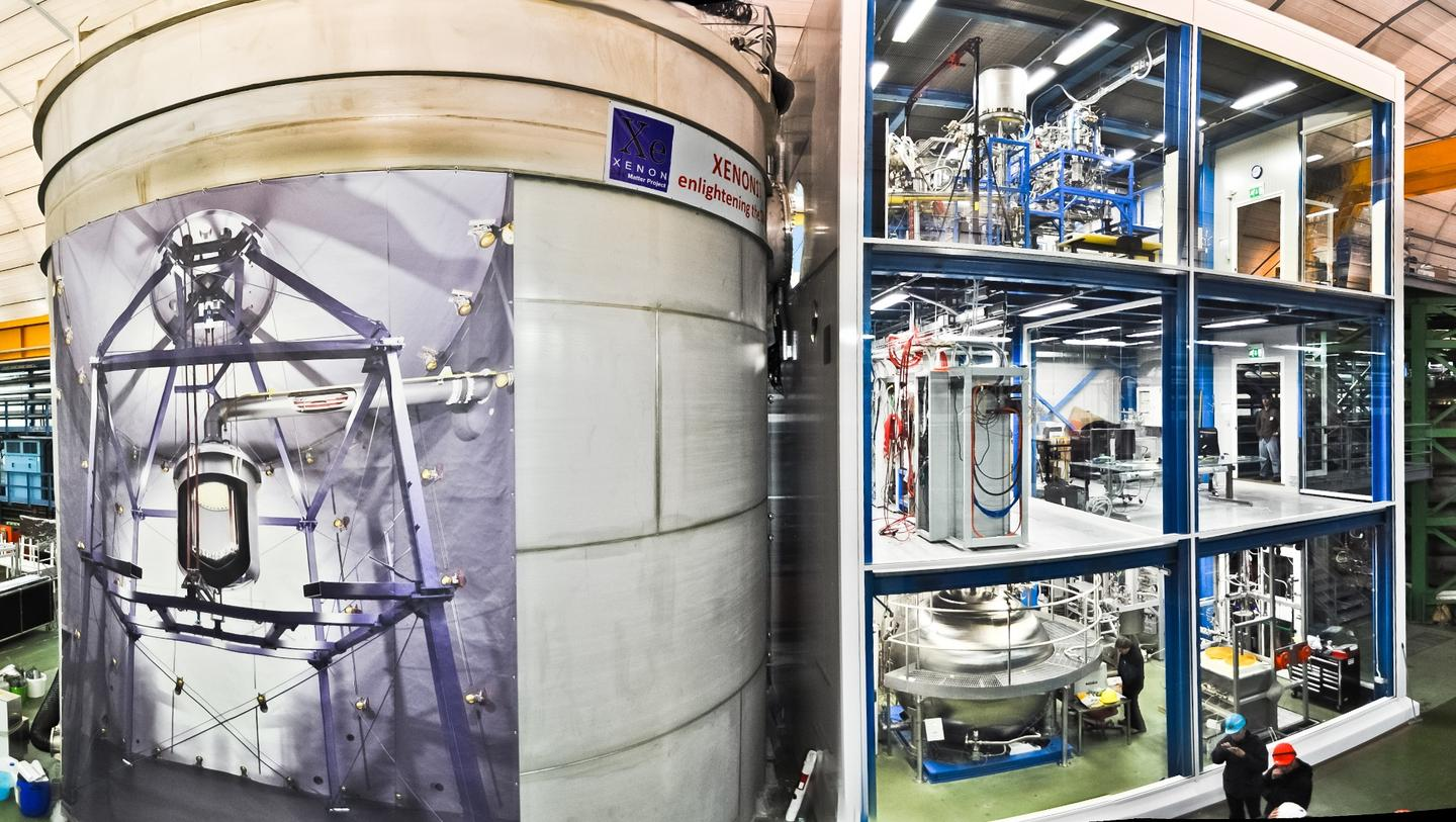 One of the experiments set up to detect dark matter particles – in this case, WIMPs