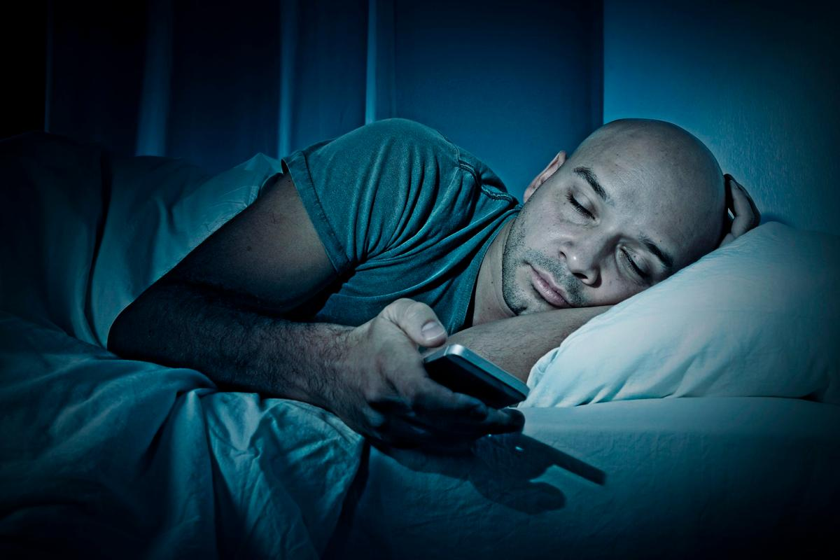 Use your devices without a filter at night and you might get the blues from lack of sleep
