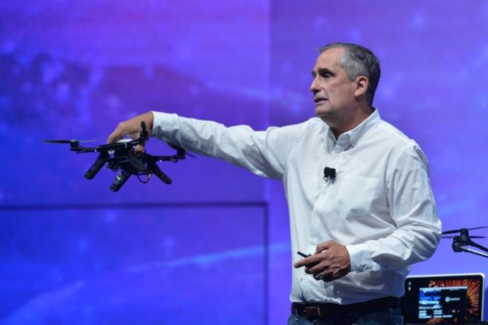 Intel announced the Aero drone at its Developer Forum in San Francisco this week