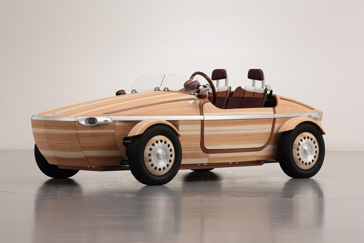 The Setsuna is a concept vehicle designed and built by Kenji Tsuji and his team of Toyota engineers