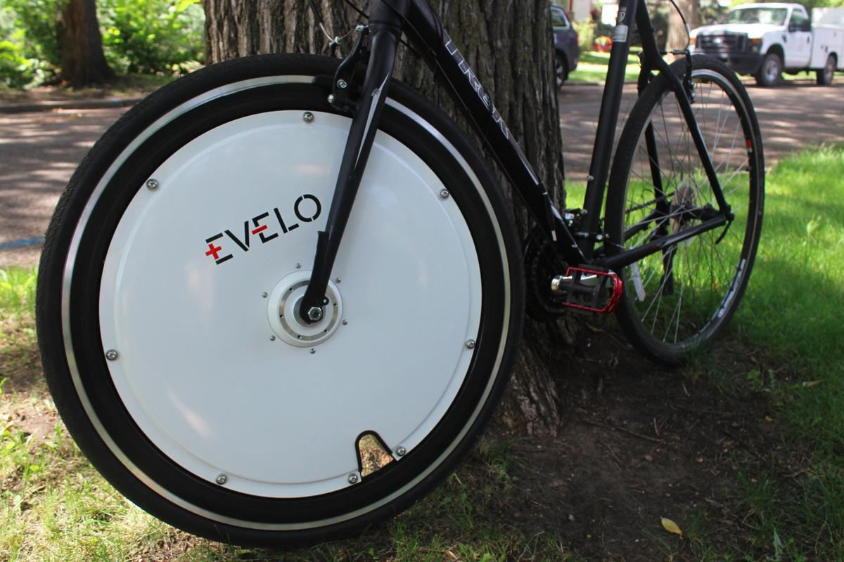 The Evelo Omni Wheel, ready to go