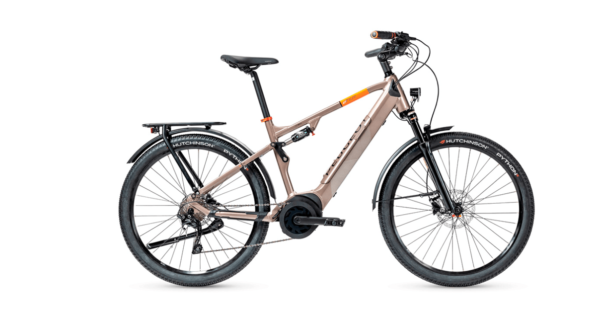 Peugeot's Crossover ebikes ride urban roads and weekend trail adventures