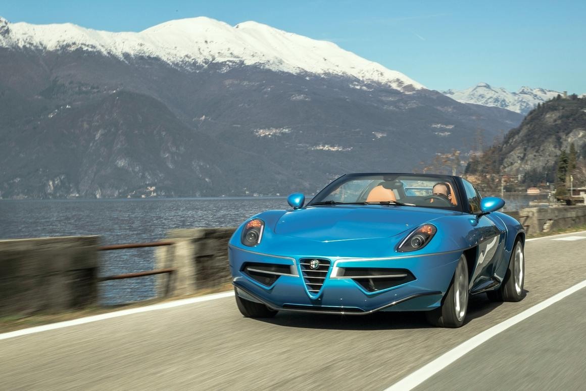 The Disco Volante Spyder does what it was made for