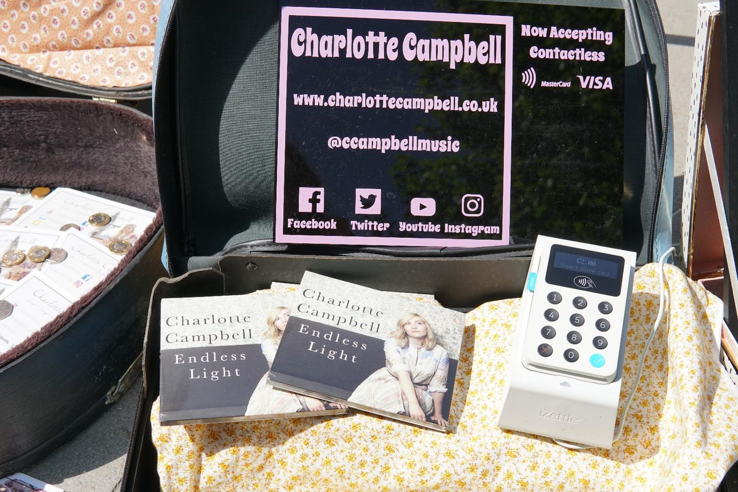 """""""I've only trialled led Repeat Payments for two weeks and it has already had a significant impact on the contributions I've received,"""" said full-time busker Charlotte Campbell"""