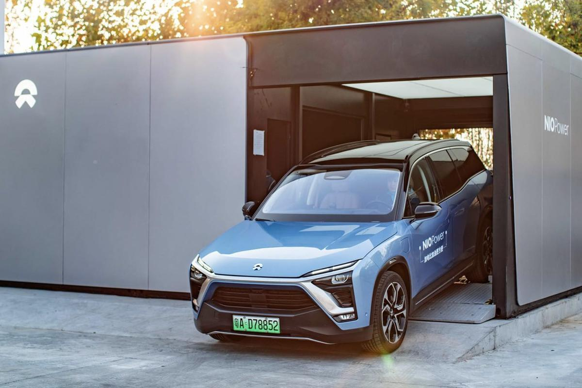 The 500,000th battery swap took place at the Shanghai Auto Expo Park on May 25, 2020