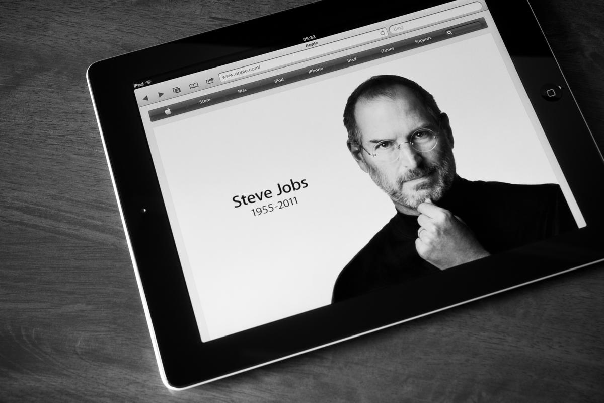 For Steve Jobs, the customer's experience was paramount (Photo: bloomua/Shutterstock)