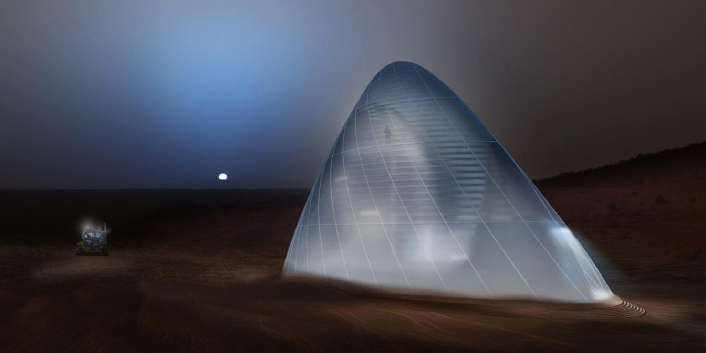 "Ice House is based on NASA's ""follow the water"" approach to exploration"