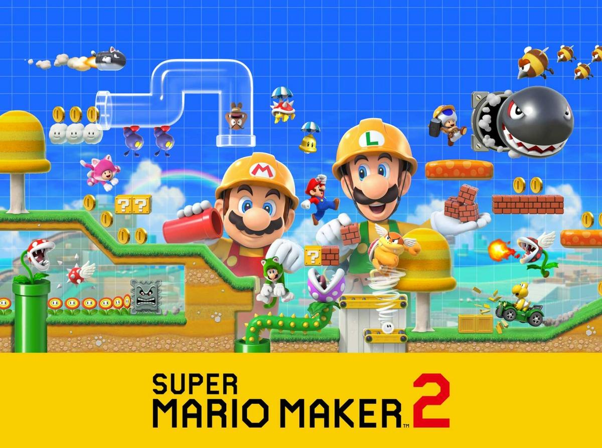 Nintendo has announced Super Mario Maker 2 for the Switch,and there might be a few interesting details hidden in the trailer and images