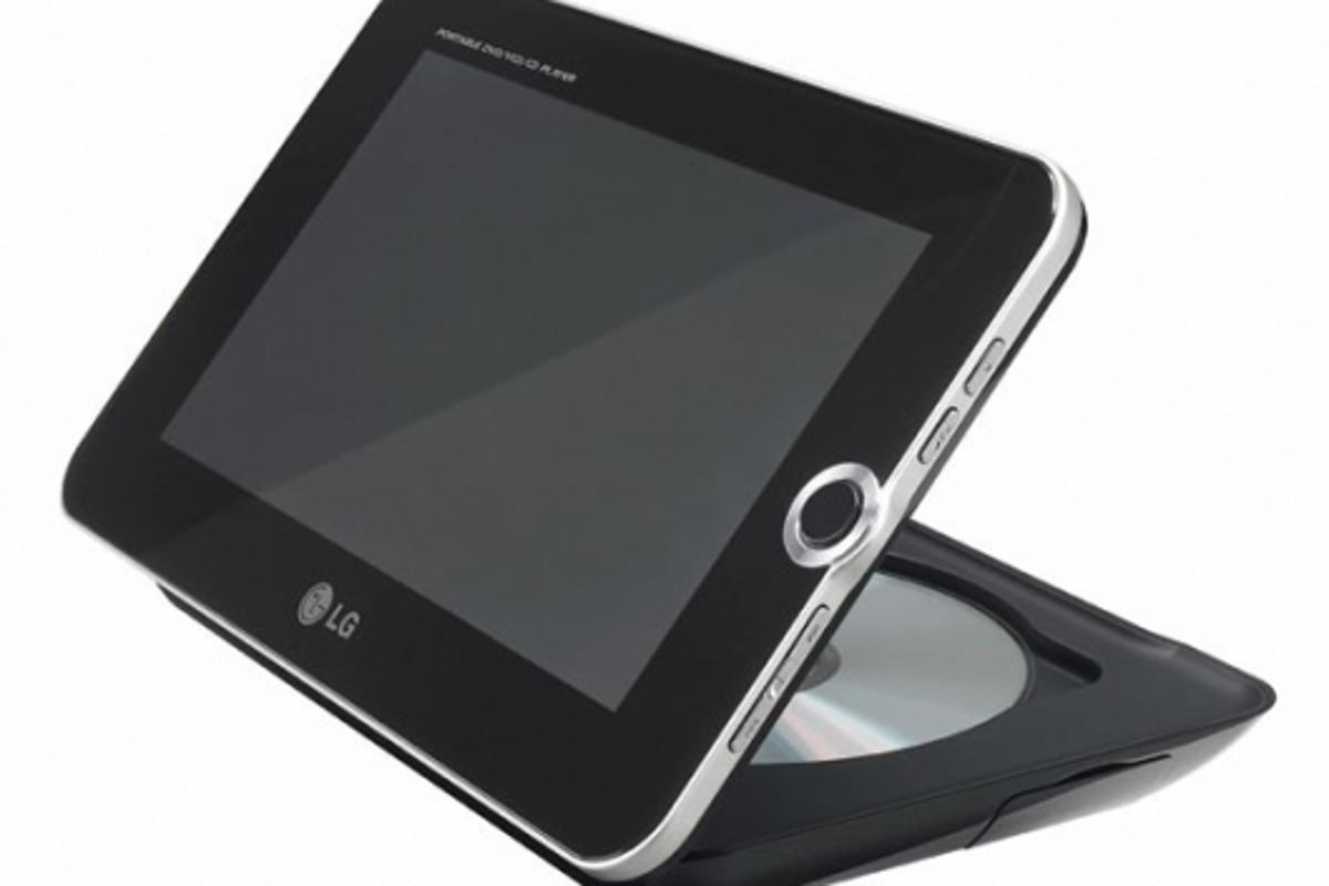 LG Digital Photo Frame and DVD Player (DP392G)