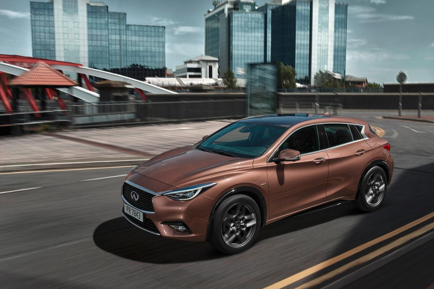 """Infiniti describes the Q30 active compact as """"a new type of premium vehicle for a new type of consumer"""""""