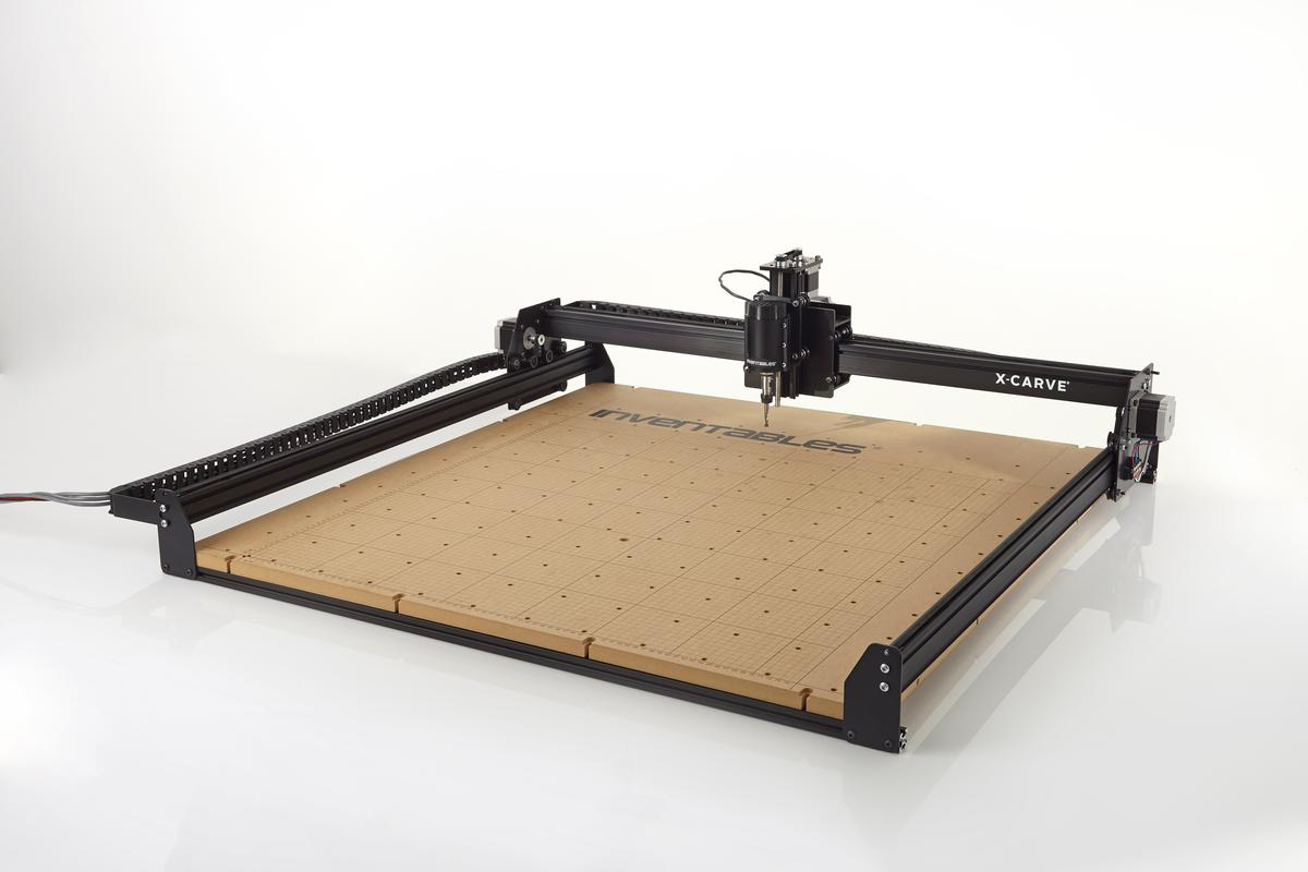 """The large 1,000 x 1,000 mm X-Carve is big enough to work on """"a full-size longboard"""""""