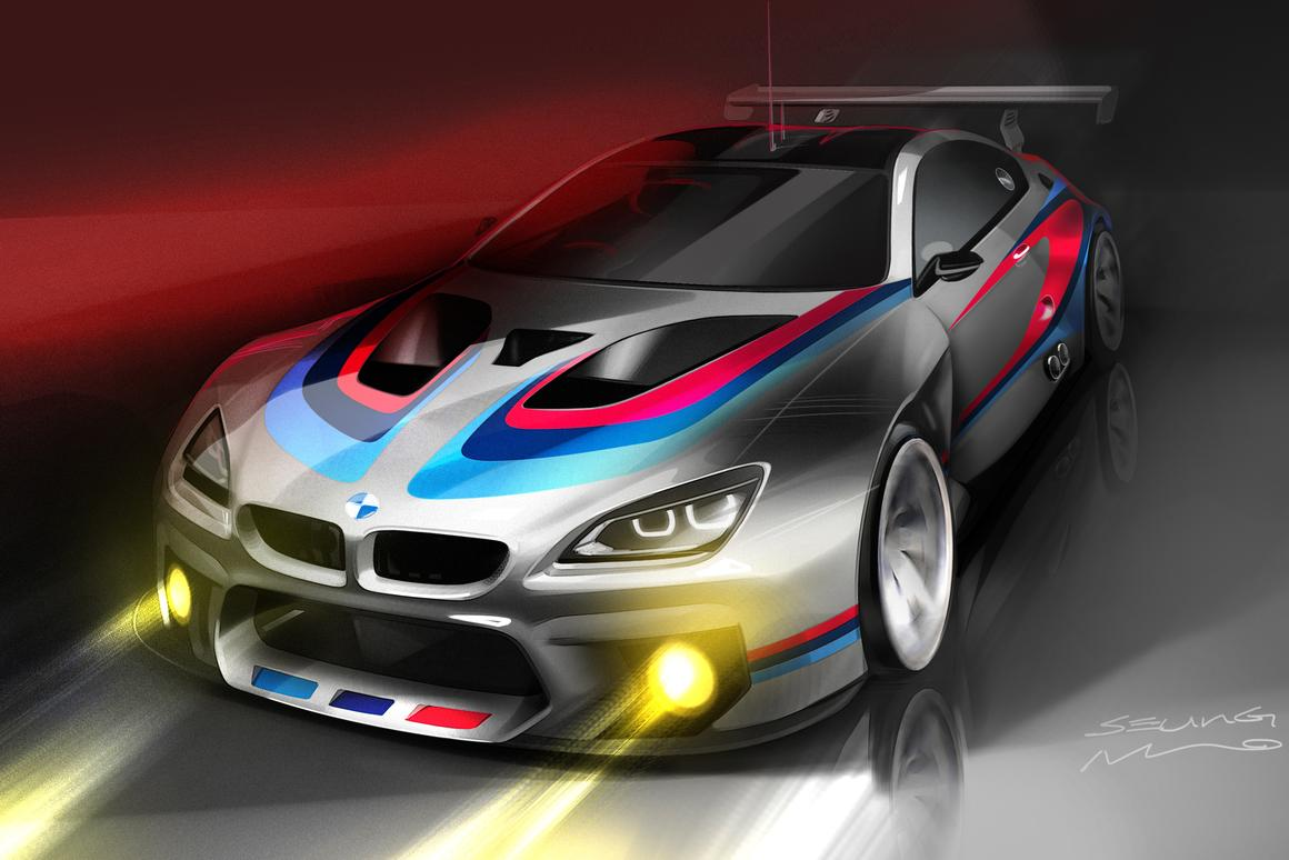 BMW has announced details for its new M6 GT3 racer