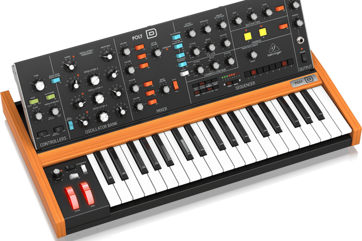 With the Poly D, the iconic Model D fat sound just got fatter
