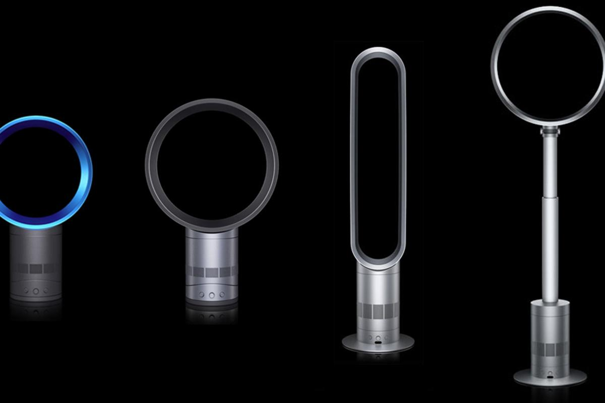 Dyson's expanded bladeless Air Multiplier fan line