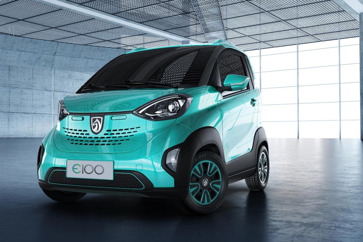 The E100 costs ¥35,800 (US$5,300) after government and local EV subsidies are taken into consideration