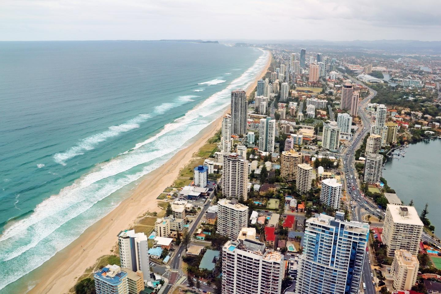 Australia's Electric Super Highway will connect the Queensland city of the Gold Coast to the state's far north