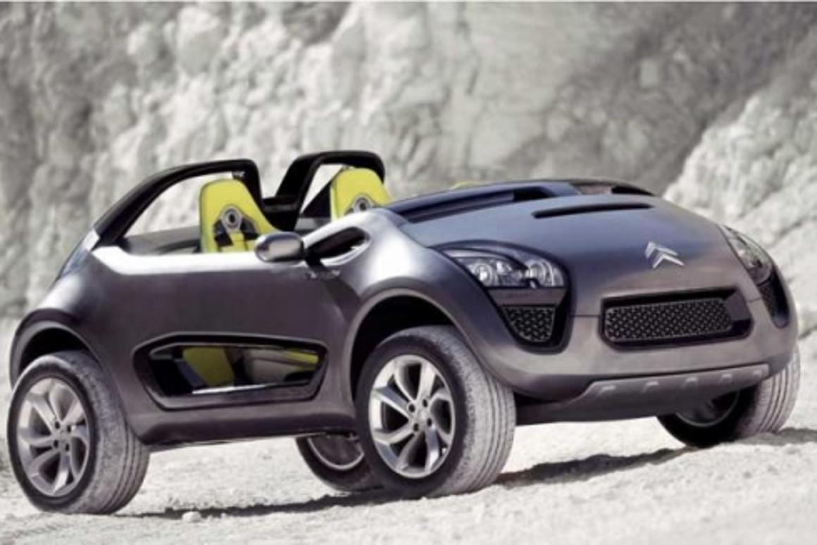 Citroen C-Buggy off-road concept car