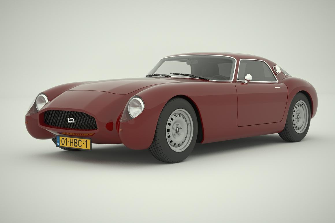 The HB Coupé comes in several colors and combnations