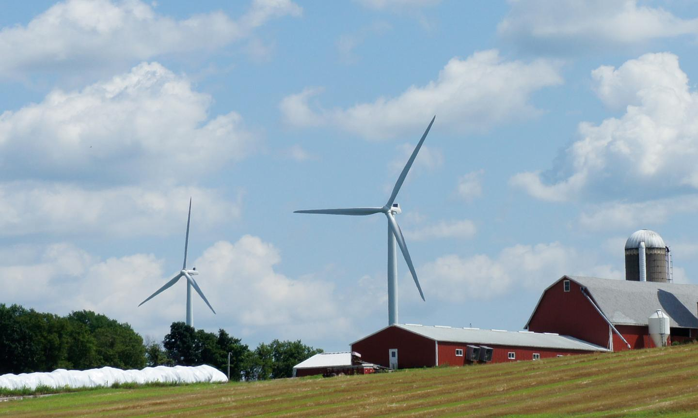 Terra-Gen Power secures $1.2 billion for largest wind farm in U.S. (Pictured: Wind turbines in Wisconsin. Photo: Noel McKeegan/Gizmag)
