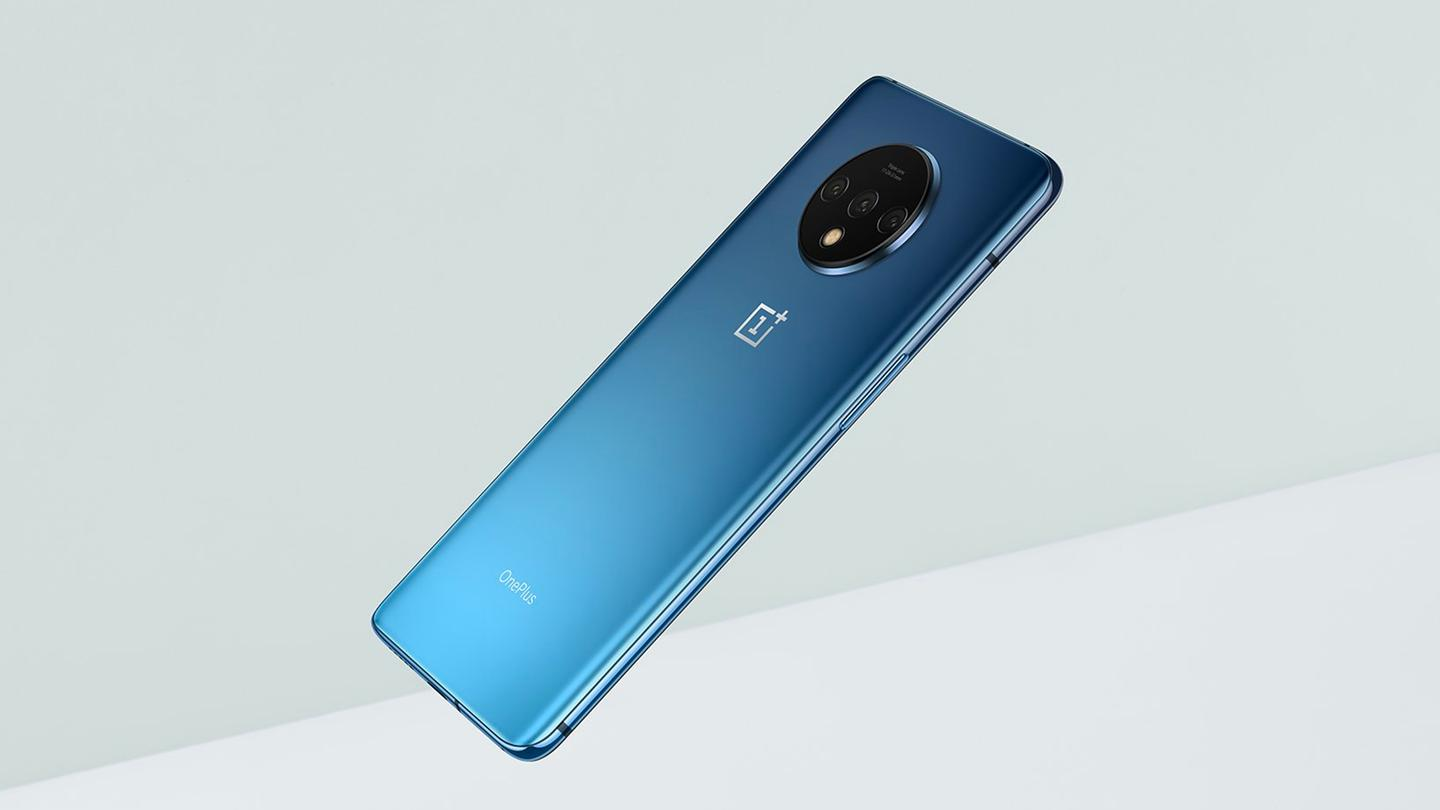 The OnePlus 7T improves the display and the rear-facing camera