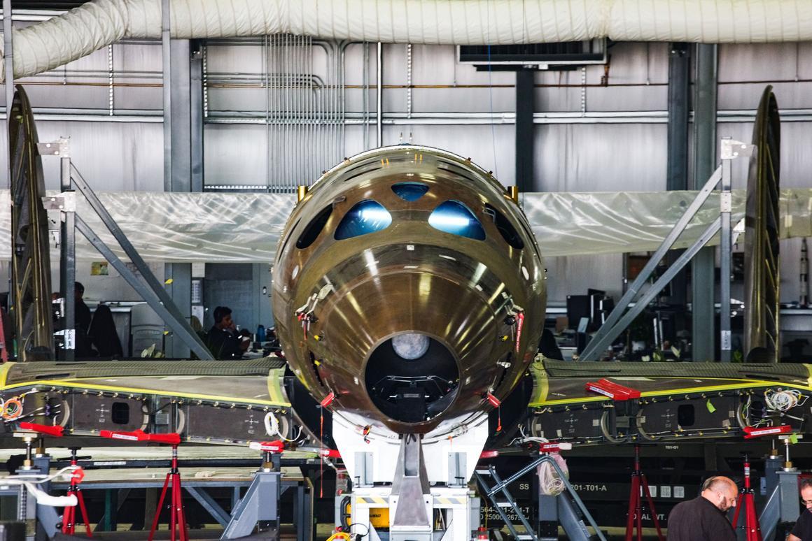 Virgin Galactic announces major milestone in manufacture of next spaceship