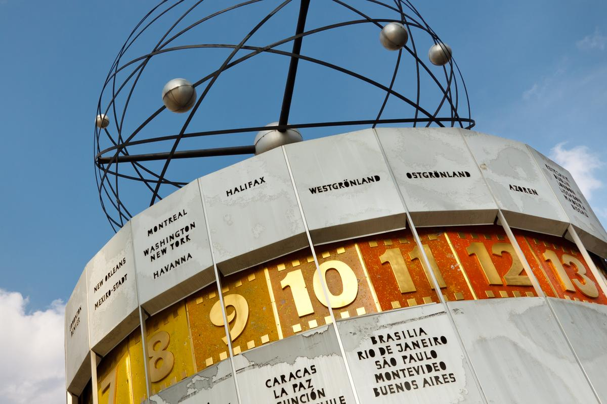 The Weltzeituhr (World Clock) at Alexanderplatz, Berlin, Germany isn't anywhere near as accurate as the nuclear clock proposed by researchers (Photo: Shutterstock)