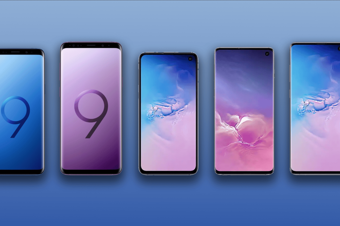 Samsung Galaxy S10e, S10 and S10+ vs  Galaxy S9 and S9+