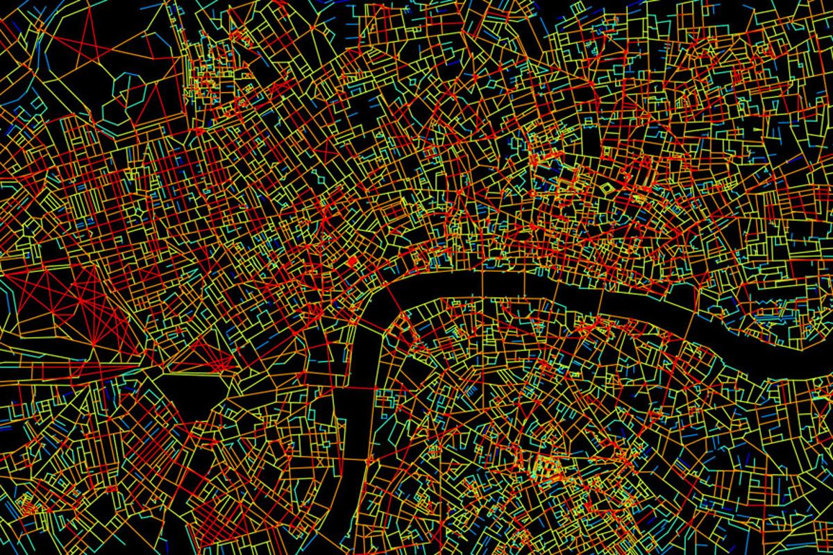UCL researchers have found that the more connected a street, the higher the level of activity in the brain